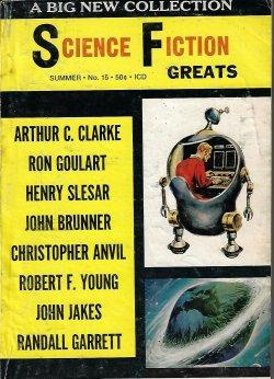 SCIENCE FICTION GREATS: No. 15, Summer 1969: Science Fiction Greats