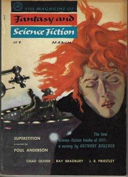 The Magazine of FANTASY AND SCIENCE FICTION: F&SF (Poul Anderson;