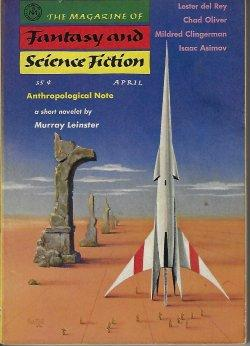 The Magazine of FANTASY AND SCIENCE FICTION: F&SF (Murray Leinster;