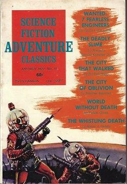 SCIENCE FICTION ADVENTURES CLASSICS: No. 16, January,: Science Fiction Adventures