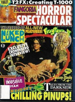 FANGORIA HORROR SPECTACULAR: No. 6, April, Apr. 1992