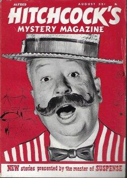 ALFRED HITCHCOCK Mystery Magazine: August, Aug. 1962: Alfred Hitchcock (Roy