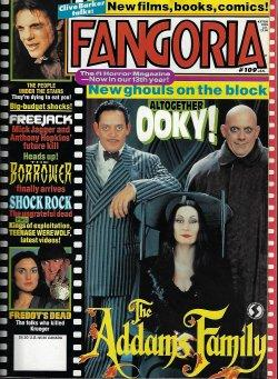 FANGORIA #109, January, Jan. 1992 (Addams Family; Freddy's Dead; Borrower; Freejack; The People U...
