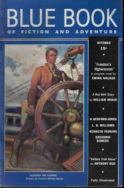BLUE BOOK Magazine: October, Oct. 1937: Blue Book (William