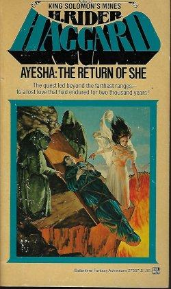 AYESHA: The Return of She: Haggard, H. Rider