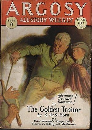 ARGOSY ALL-STORY Weekly: September, Sept. 8, 1928: Argosy (R. de