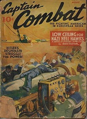 CAPTAIN COMBAT: August, Aug. 1940: Captain Combat (Barry