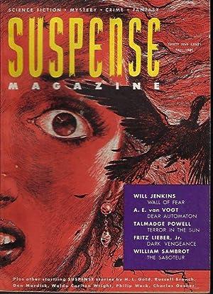 SUSPENSE Magazine: Fall 1951: Suspense (Don Mardick;