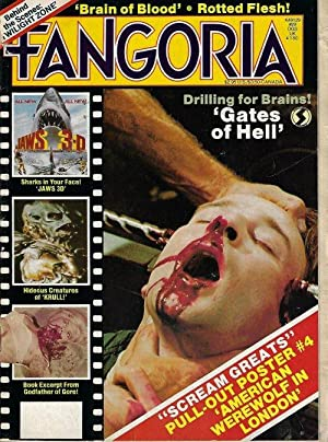 FANGORIA #29, 1983 (The Twilight Zone, Dead Zone, Jaws 3-D, Krull, Gates of Hell)