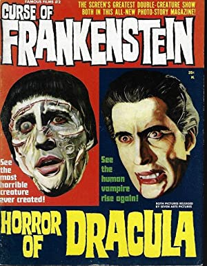 CURSE OF FRANKENSTEIN & HORROR OF DRACULA; Famous Films #2