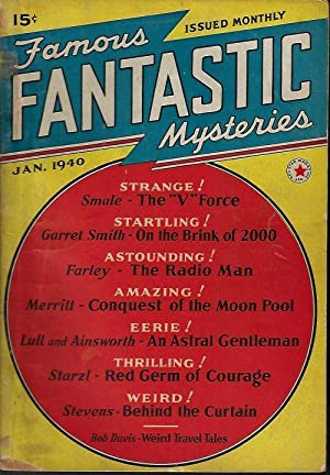 FAMOUS FANTASTIC MYSTERIES: January, Jan. 1940: Famous Fantastic Mysteries