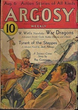 ARGOSY Weekly: August, Aug. 6, 1932: Argosy (W. Wirt;
