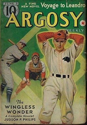 "ARGOSY Weekly: June 3, 1939 (""Cancelled in: Argosy (Judson P."