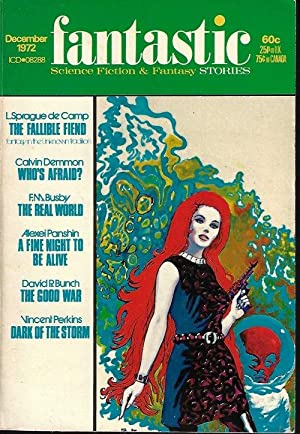 "FANTASTIC Stories: December, Dec. 1972 (""The Fallible: Fantastic (L. Sprague"
