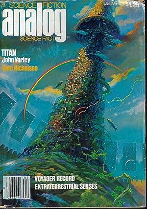 ANALOG Science Fiction/ Science Fact: January, Jan.: Analog (John Varley;