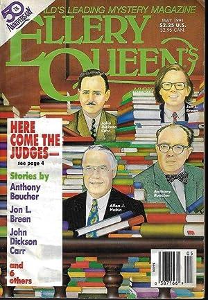 ELLERY QUEEN Mystery Magazine: May 1991: Ellery Queen Mystery