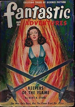 FANTASTIC ADVENTURES: May 1949: Fantastic Adventures (Burt