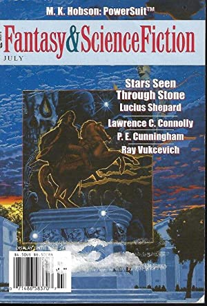 The Magazine of FANTASY AND SCIENCE FICTION: F&SF (Lucius Shepard;