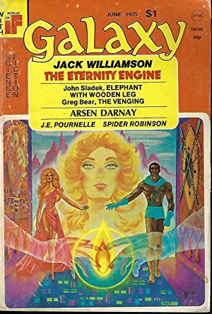 GALAXY Science Fiction: June 1975: Galaxy (Jack Williamson;