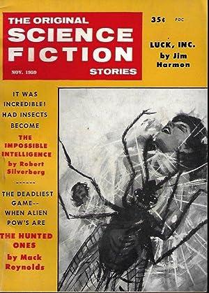 The Original SCIENCE FICTION Stories: November, Nov.: Original Science Fiction
