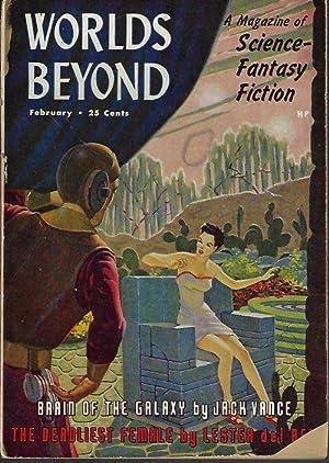 WORLDS BEYOND: February, Feb. 1951: Worlds Beyond (Jack