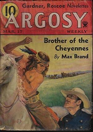 "ARGOSY Weekly: March, Mar. 17, 1934 (""Brother: Argosy (Erle Stanley"