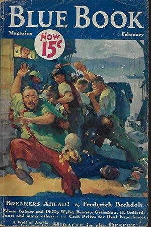 "BLUE BOOK Magazine: February, Feb. 1933 (""When: Blue Book (Roy"