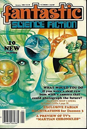 FANTASTIC Science Fiction: January, Jan. 1980: Fantastic (Steve Fabian;