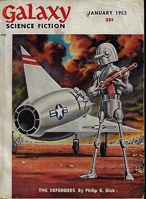 "GALAXY Science Fiction: January, Jan. 1953 (""Ring: Galaxy (Philip K."