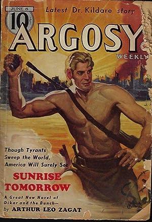 "ARGOSY Weekly: June 8, 1940 (""Dr. Kildare: Argosy (Arthur Leo"