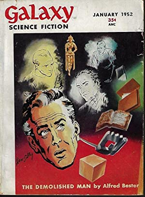"GALAXY Science Fiction: January, Jan. 1952 (""The: Galaxy (Alfred Bester;"