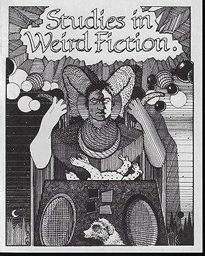 STUDIES IN WEIRD FICTION: #1; Summer 1986: Studies in Weird