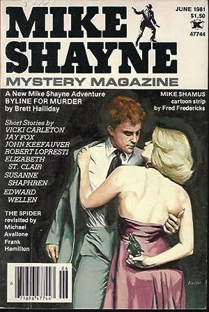 MIKE SHAYNE MYSTERY MAGAZINE: June 1981: Mike Shayne Mystery