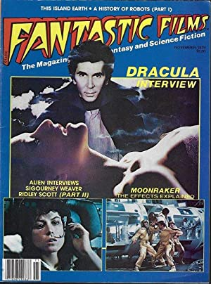 FANTASTIC FILMS: November, Nov. 1979 (Dracula; Alien; Moonraker; more)
