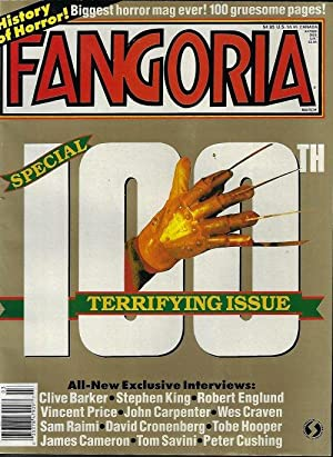 FANGORIA #100, March, Mar. 1991 (Sometimes They Come Back; Terminator 2; Scanners II; the Silence...