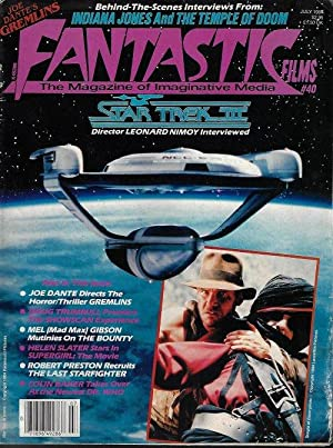 FANTASTIC FILMS: July 1984 (Star Trek II; Indiana Jones and the Temple of Doom; The Last Starfigh...