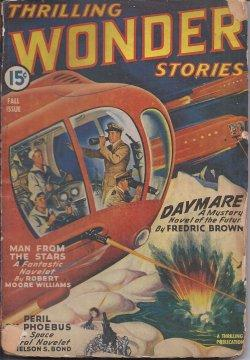 THRILLING WONDER Stories: Fall 1943: Thrilling Wonder (Fredric Brown; Robert Moore Williams; Nelson...
