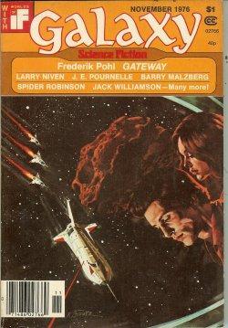 "GALAXY Science Fiction: November, Nov. 1976 (""Gateway""): Galaxy Science Fiction"