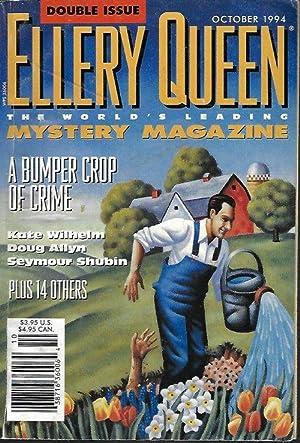 ELLERY QUEEN Mystery Magazine: October, Oct. 1994: Ellery Queen Mystery