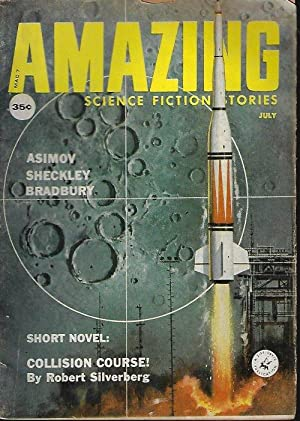 AMAZING Stories: July 1959 (Collision Course): Amazing (Robert Silverberg;