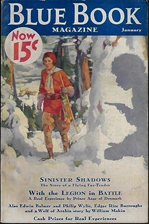 "BLUE BOOK Magazine: January, Jan. 1933 (""Tarzan: Blue Book (William"