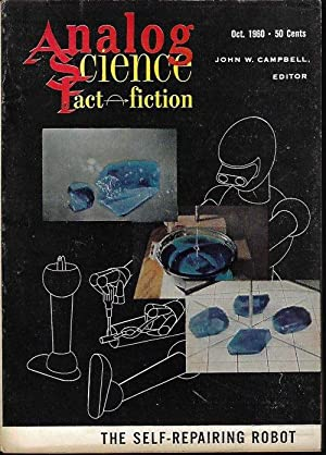 ANALOG Science Fact Fiction: October, Oct. 1960: Analog (Pauline Ashwell;