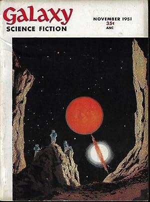 """GALAXY Science Fiction: November, Nov. 1951 (""""The: Galaxy (Frank Quattrocchi;"""