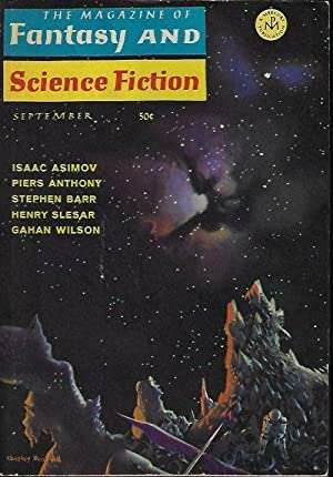 The Magazine of FANTASY AND SCIENCE FICTION: F&SF (Piers Anthony;