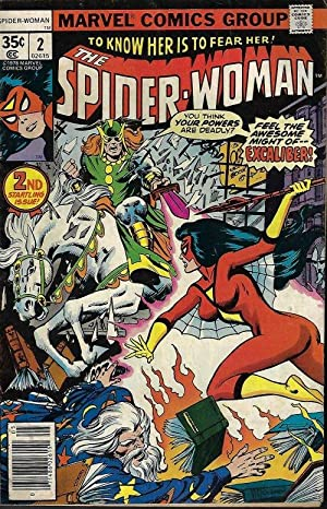 SPIDER-WOMAN: May #2