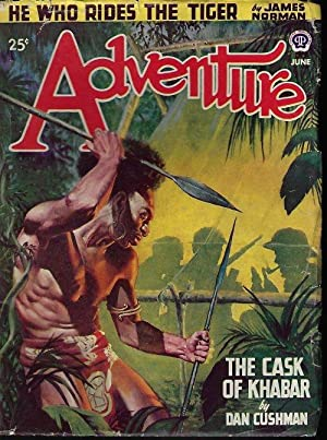 ADVENTURE: June 1947: Adventure (Dan Cushman;