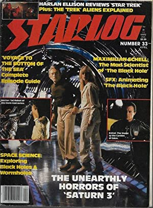 STARLOG: #33; April, Apr. 1980
