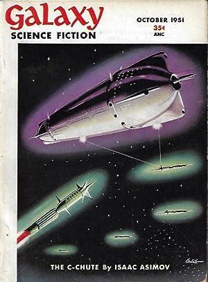 "GALAXY Science Fiction: October, Oct. 1951 (""The: Galaxy (Isaac Asimov;"