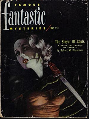 "FAMOUS FANTASTIC MYSTERIES: May 1951 (""The Slayer: Famous Fantastic Mysteries"