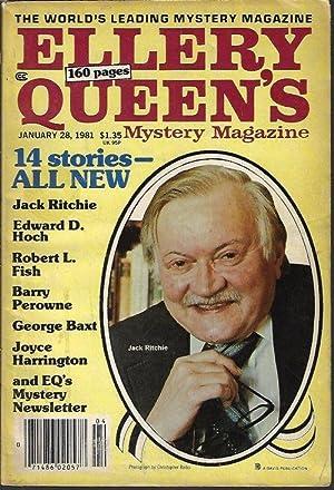 ELLERY QUEEN Mystery Magazine: January, Jan. 28,: Ellery Queen Mystery